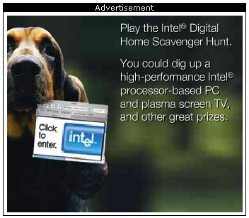 Safari Intel Ad