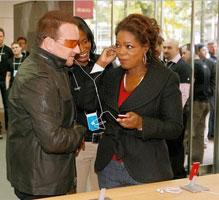 Bono Oprah RED