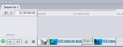 Transition Begins on Edit